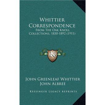 Whittier Correspondence