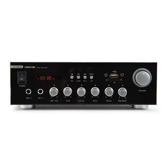 Amplificador de áudio Fonestar AS-30RUB 2.0canais Casa Com fios Preto