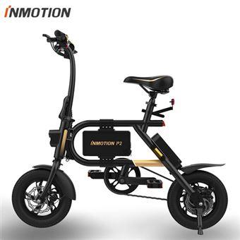 Bicicleta Elétrica Dobrável INMOTION P2O | Liga de Alumínio | 29km | HUAWEI HiLink | 350W | BMS | USB | LED - Dourado