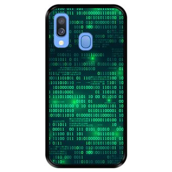 Capa Tpu Hapdey para Samsung Galaxy A40 2019 | Design Matriz Digital - Preto