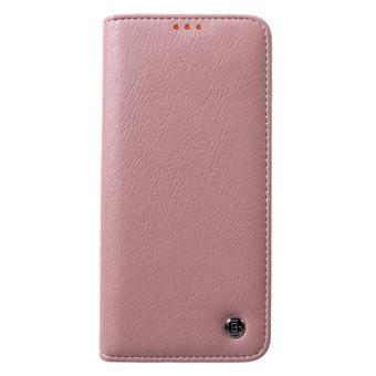 Capa Magunivers PU kala série crazy horse card holder/stand rosa para Samsung Galaxy S10