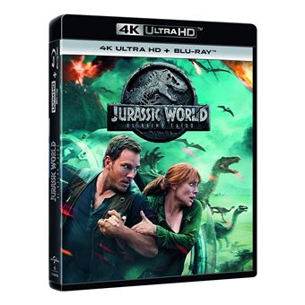 Jurassic World: Fallen Kingdom / Jurassic World 2 El Reino Caido (4K UHD + BD) (2Blu-ray)