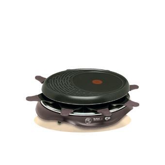 Raclette Tefal RE 5160 SIMPLY INVENTS 8  - Preto