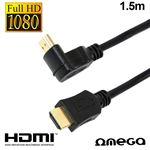 Cabo HDMI Omega para HDMI Audio-Video Universal 1.5m V1.4 Angular