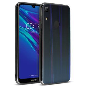 Capa Holograma Avizar para Huawei Y6 2019 Coleção Aurora Preto
