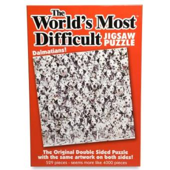 World's Most Difficult Jigsaw Puzzle Dalmatians 529 Pieces PLG6280 Paul Lamond Games