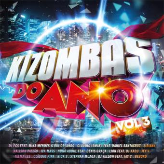 Kizombas do Ano Vol. 3 - CD