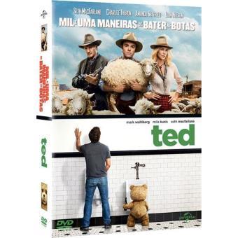Pack Seth MacFarlane: Mil e Uma Maneiras de Bater as Botas + Ted