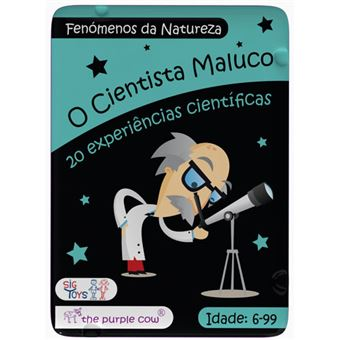 O Cientista Maluco: Fenómenos da Natureza - Sig Toys