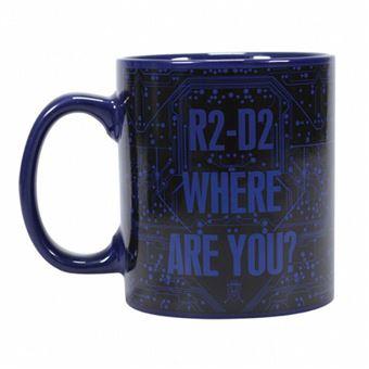 Caneca Termosensível Star Wars: R2D2