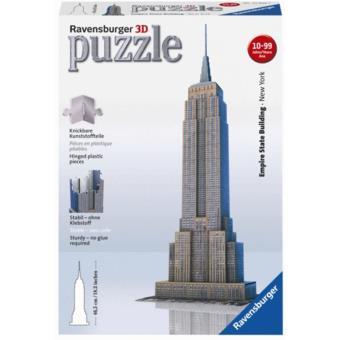 Puzzle 3D Empire State Building - 216 Peças