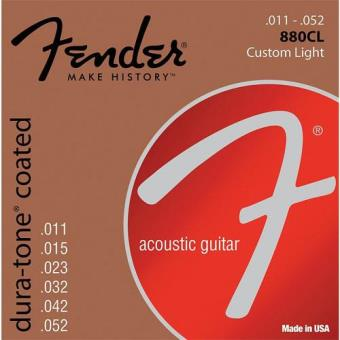 Cordas Guitarra Acústica Fender 11-52 Coated