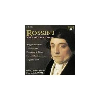 ROSSINI-ONE ACTO OPERAS (8CD)