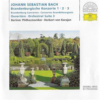 Brandenburg Concertos 1-3 - CD
