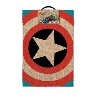 Captain America - Tapete de Porta Escudo
