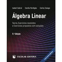 Álgebra Linear: Teoria, Exercícios Resolvidos e Exercícios Propostos com Soluções