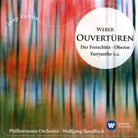 Weber: Ouvertures - CD