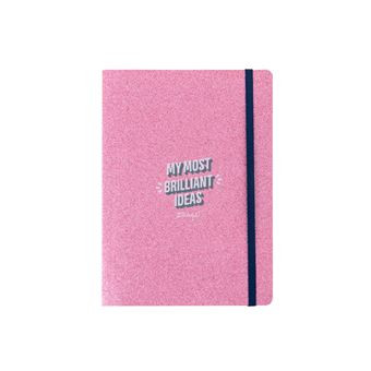 Caderno Pequeno Mr. Wonderful - Glitter - My Most Brilliant Ideas