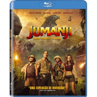 Jumanji: Bem-Vindos à Selva - Blu-ray
