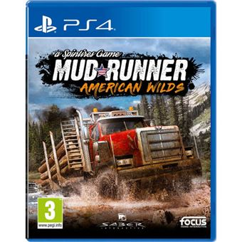 Spintires MudRunner American Wild - PS4