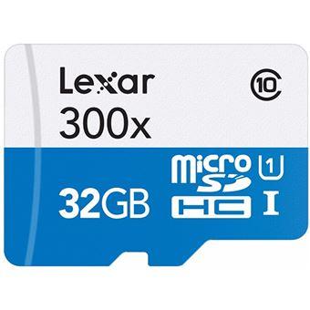 Cartão de Memória Lexar High-Performance 300x Classe 10 - MSDHC - 32GB