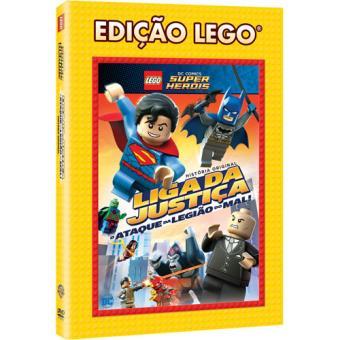 LEGO DC Comics Super Heróis: Liga da Justiça - O Ataque da Legião do Mal!  (DVD)