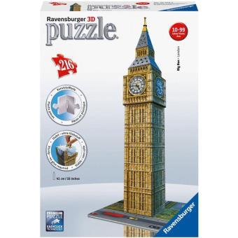 Puzzle 3D Big Ben - 216 Peças