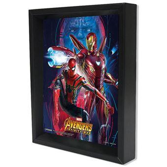 Poster Lenticular Iron Man & Spider-Man