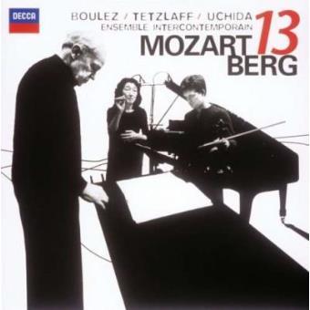 Pierre Boulez conducts Berg & Mozart