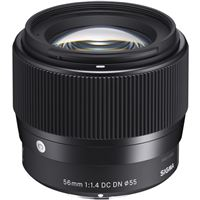 Objetiva Sigma 56mm f/1.4 DC DN para Sony E