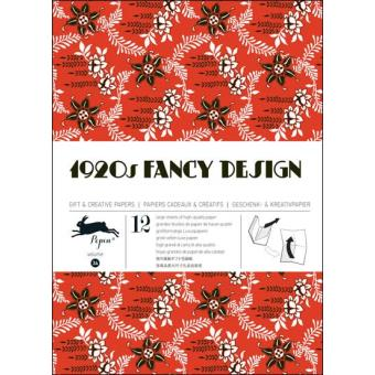 1920s Fancy Design Gift Wrapping Papers