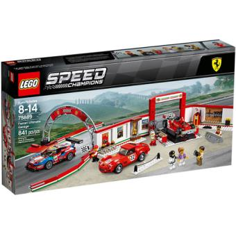 LEGO Speed Champions 75889 Garagem Ferrari Ultimate