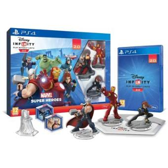 Disney Infinity 2.0 - Marvel Superheroes Starter Pack PS4