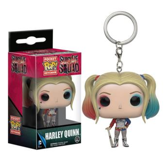 Funko Pop! Porta-chaves Suicide Squad: Harley Quinn