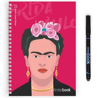 Caderno Liso InfiniteBook - Frida Kahlo A5