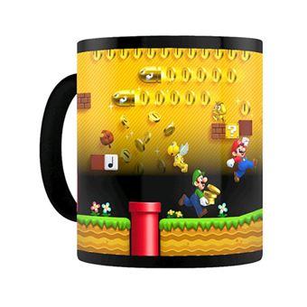 Caneca Termosensível Nintendo: Super Mario