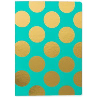 Caderno Pautado Shimmer Teal A5