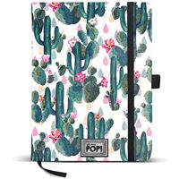 Caderno Liso Oh My Pop! - Cactus A5