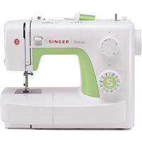 Máquina de Costura Singer Simple 3229 - Branco | Verde