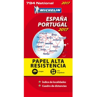 mapa de portugal espanha michelin Mapas e Guias Michelin   Guias de Turismo e Mapas   Fnac.pt mapa de portugal espanha michelin