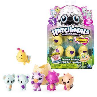 e88029ea031 ... Mini Hatchimals - Pack 5 Figuras - Concentra - Envio Aleatório ...
