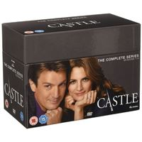 Castle - Season 1-8 - 45DVD Importação