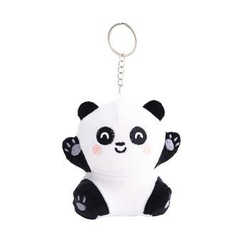 Porta-Chaves Squishy Plush Mr. Wonderful - Panda