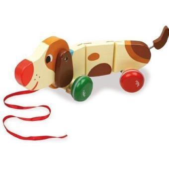 Brinquedo de Puxar - Cão
