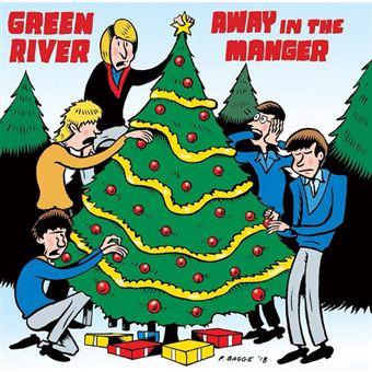 Away in a Mangerblue Christmas - Single Vinil 7''