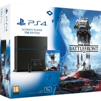 Consola Sony PS4 1TB + Star Wars: Battlefront