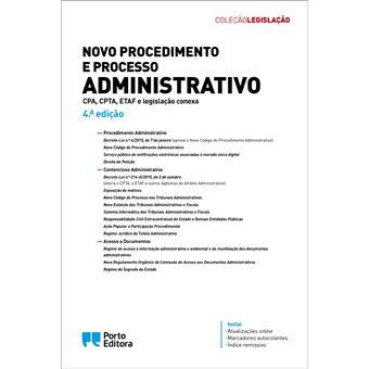 Novo Procedimento e Processo Administrativo