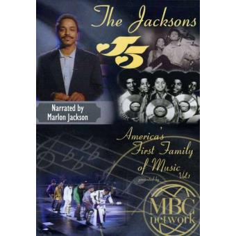 The Jacksons (aka Jackson 5): America's First Family Of Music Vol.1 Narrated by Marlon Jackson