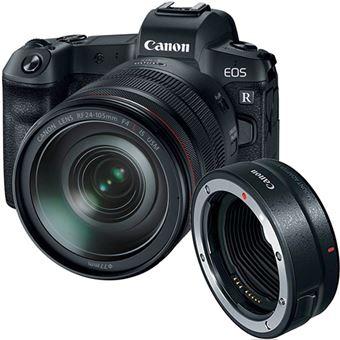 Canon EOS R + RF 24-105mm f/4L IS USM + Adaptador EF-EOS R