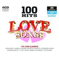 100 Hits: Love Songs (5CD)